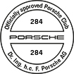Officially approved Porsche Club 284
